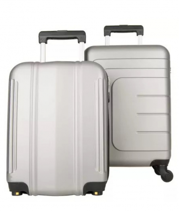 Suitcase Dublín 2 Pieces - Silver