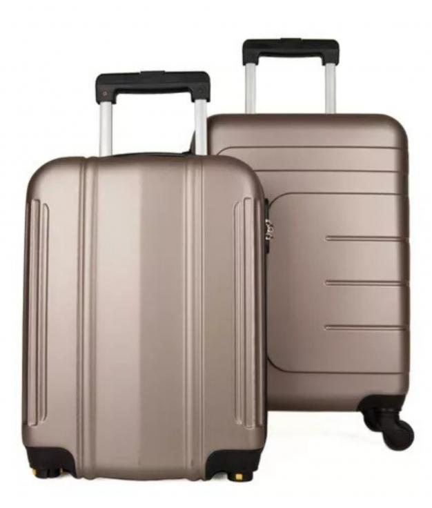 Suitcase Dublín 2 Pieces - Champagne