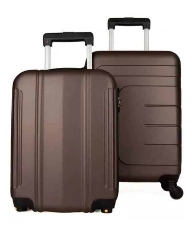 Suitcase Dublín 2 Pieces - Bronze