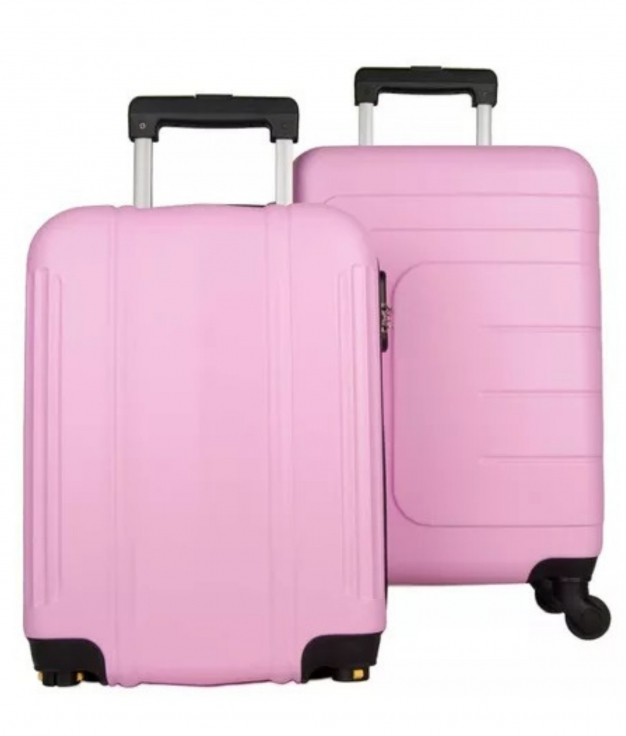 Suitcase Dublín 2 Pieces - Pink