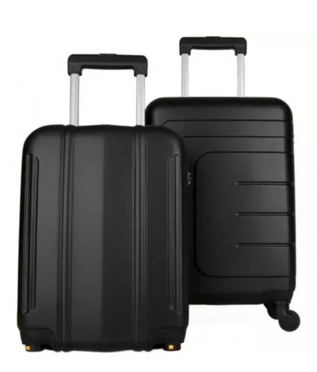Suitcase Dublín 2 Pieces - Black