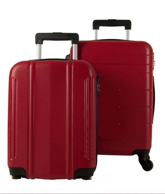 Suitcase Dublín 2 Pieces - Red