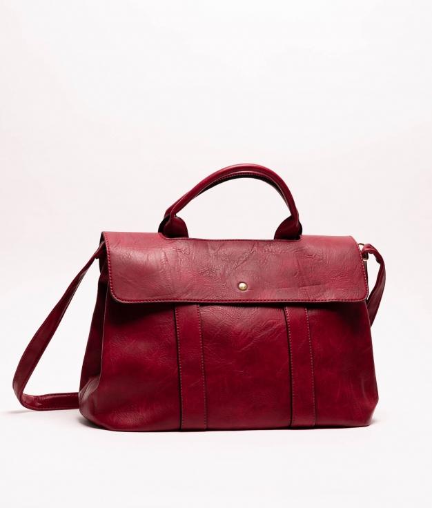 Cristof handbag - Wine