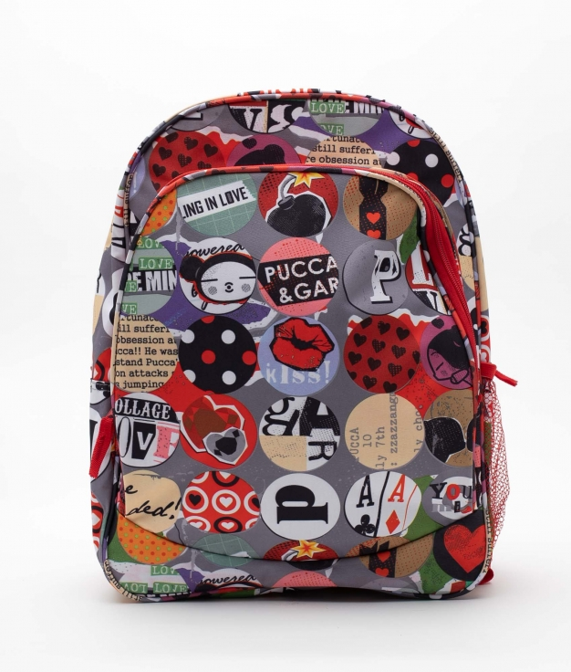 SAC A DOS PUCCA BOMB - ROUGE