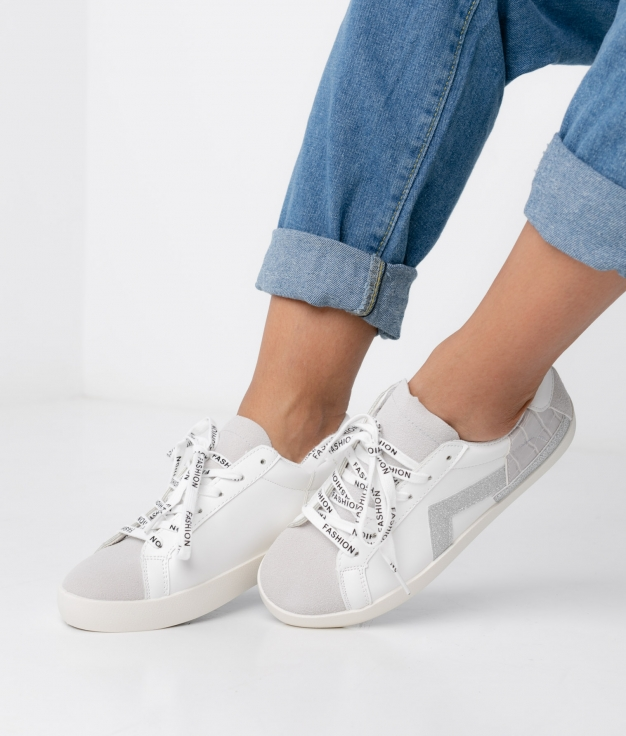 Sneakers Clur - Plata