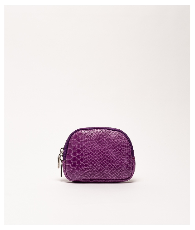 Monedero piel Nimo - Purple