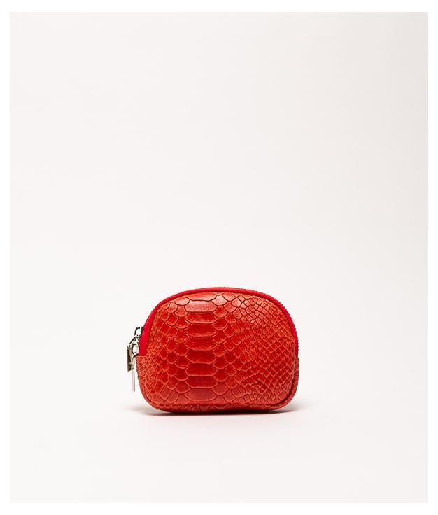 Monedero piel Nimo - vermelho