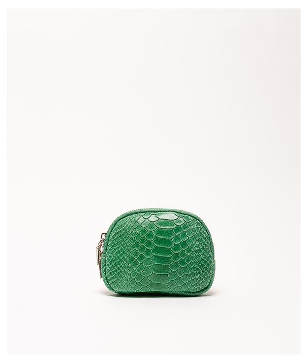 Monedero piel Nimo - verde