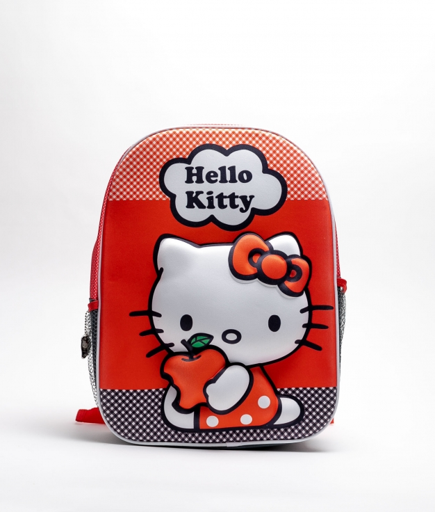 SAC A DOS HELLO KITTY 3D - ROUGE
