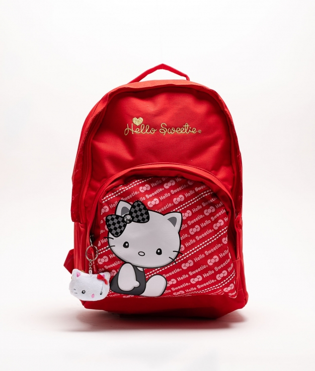 SAC A DOS HELLO SWEETIE - ROUGE