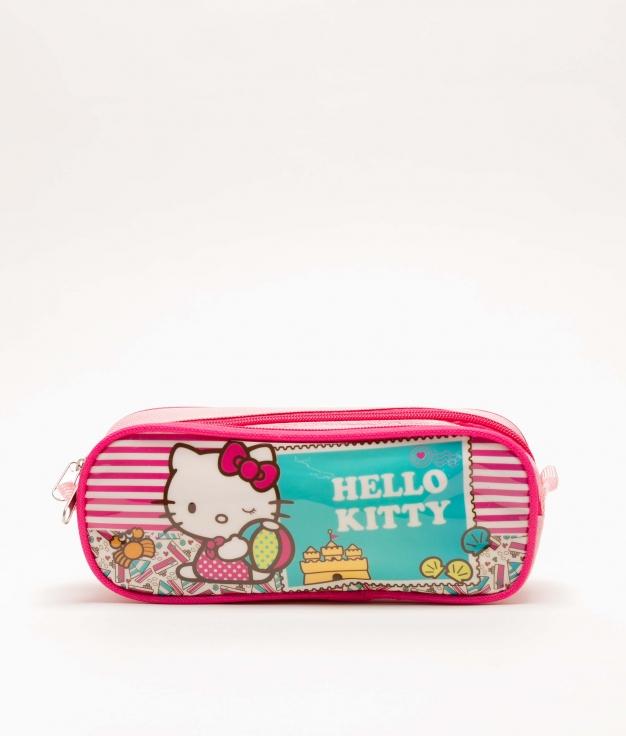 ESTUCHE HELLO KITTY - ROSA