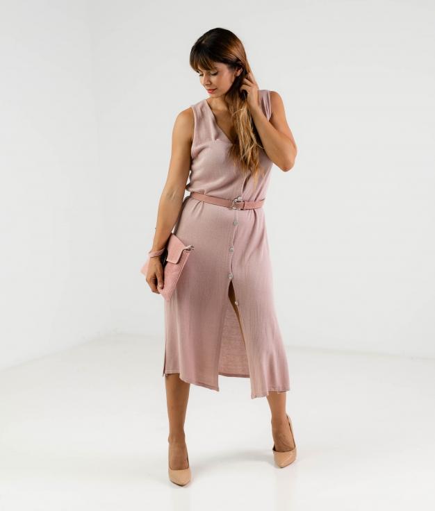CECI DRESS - PINK