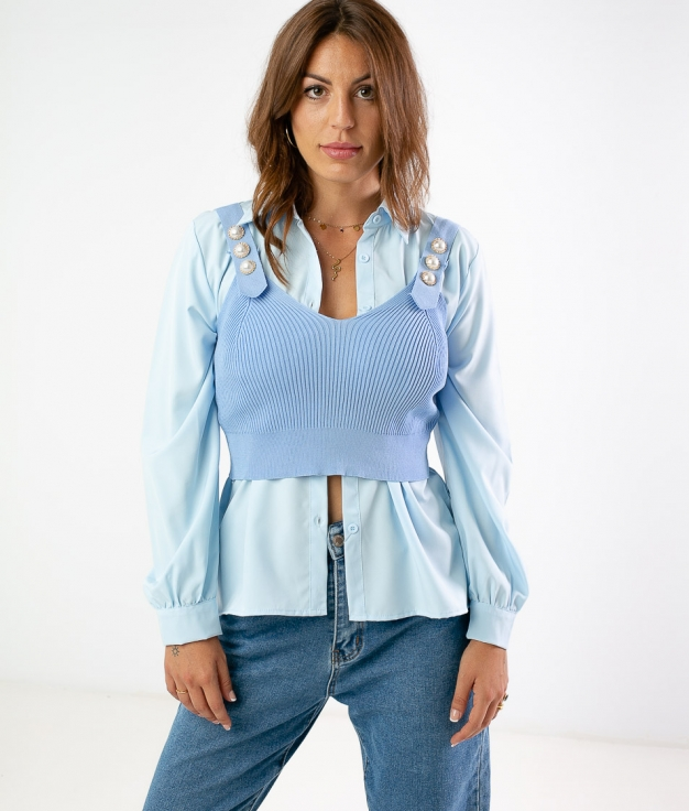 TRELONA OUTFIT - BLUE