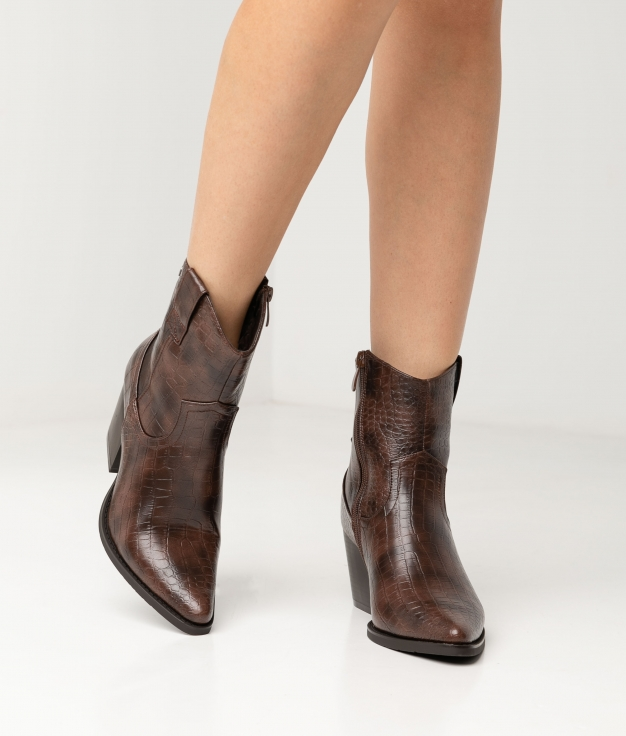 MOLANY LOW BOOT - BROWN