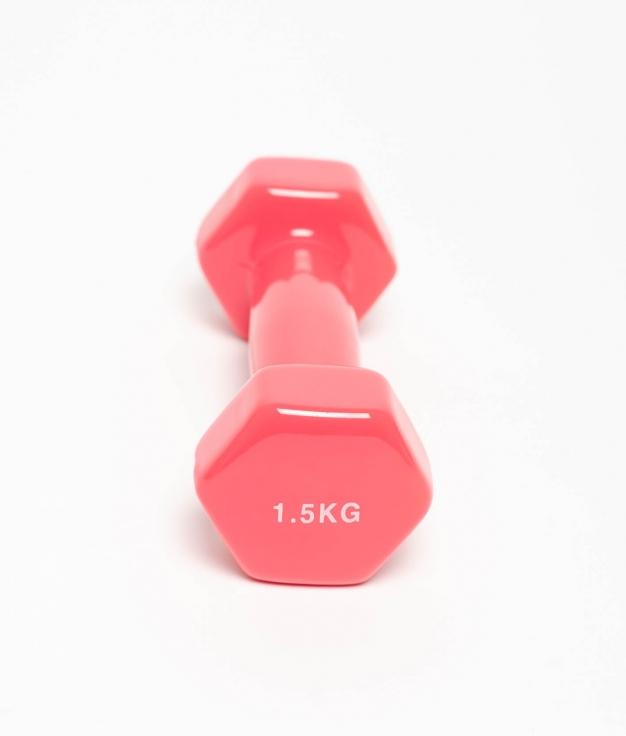 MANCUERNA VINILO 1,5 KG - FUCSIA