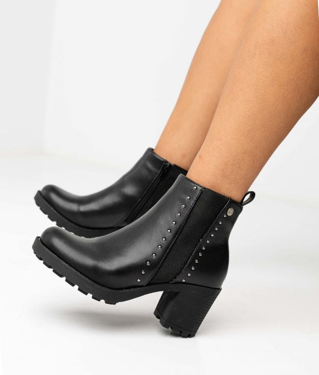 OLNAY LOW BOOT - BLACK