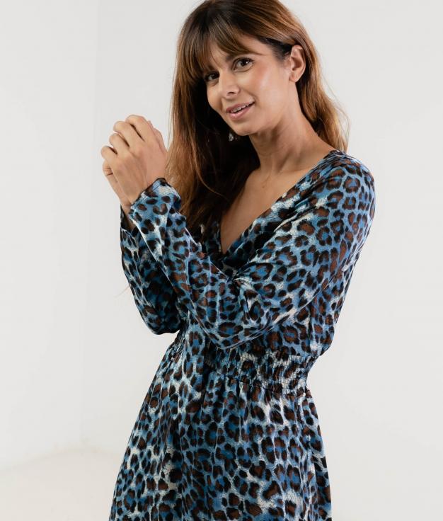 Vestido Siuna - Azul