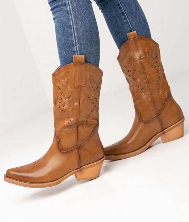 Boot Cerelia - Camel