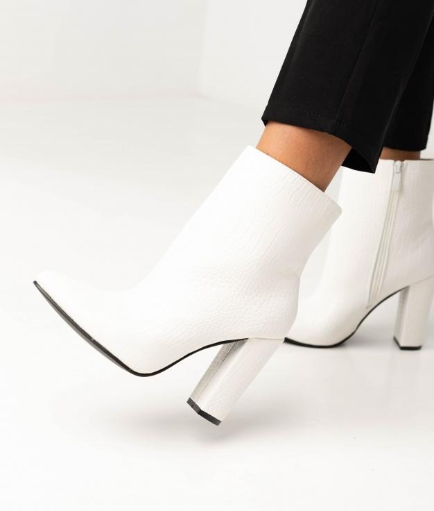 Low Boot Bernard - White