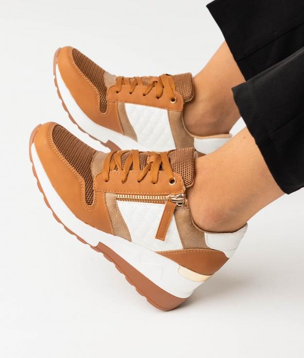 Sneakers GOLEN - CAMEL