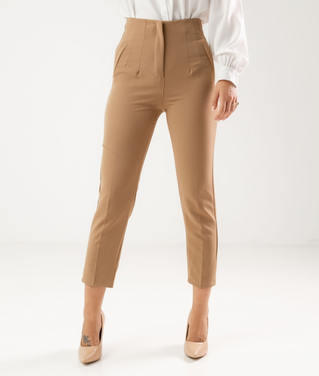 SANTROPE TROUSERS - CAMEL