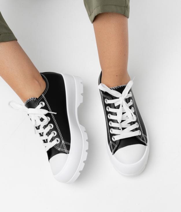 Sneakers CARET - NEGRO POLIPIEL