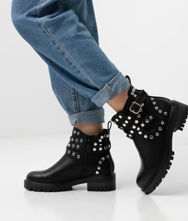 Low Boot Carif - Black