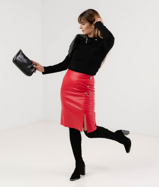 HUTES SKIRT - RED