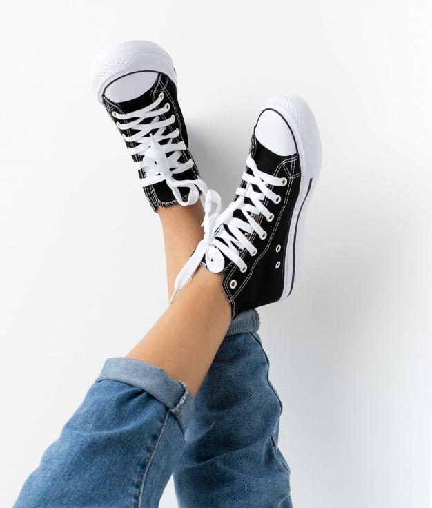 Sneakers Reline - Preto