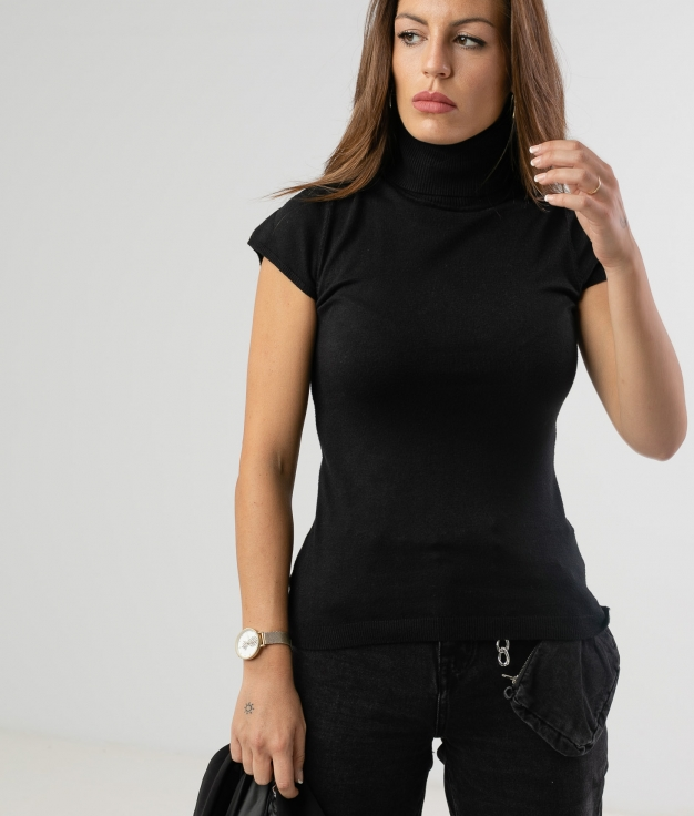 KERANI SWEATER - BLACK