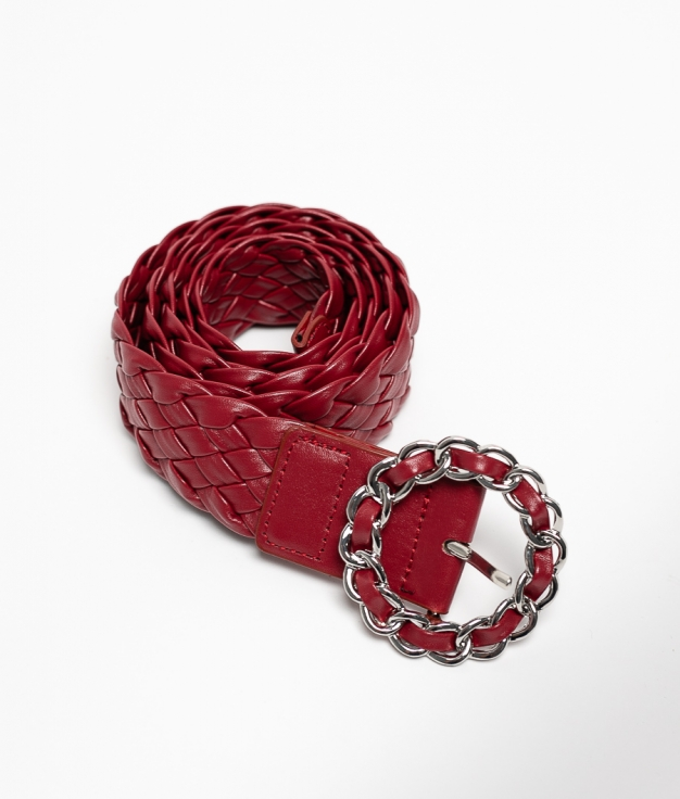 MACOVI BELT - RED