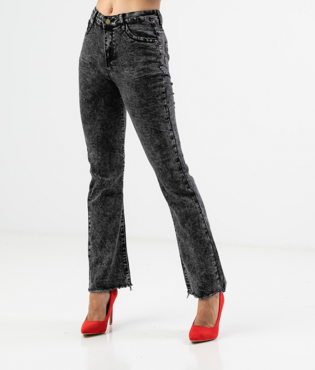 RISCOLA TROUSERS - BLACK