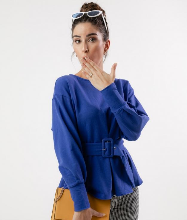 GAVIERU T-SHIRT - BLUE