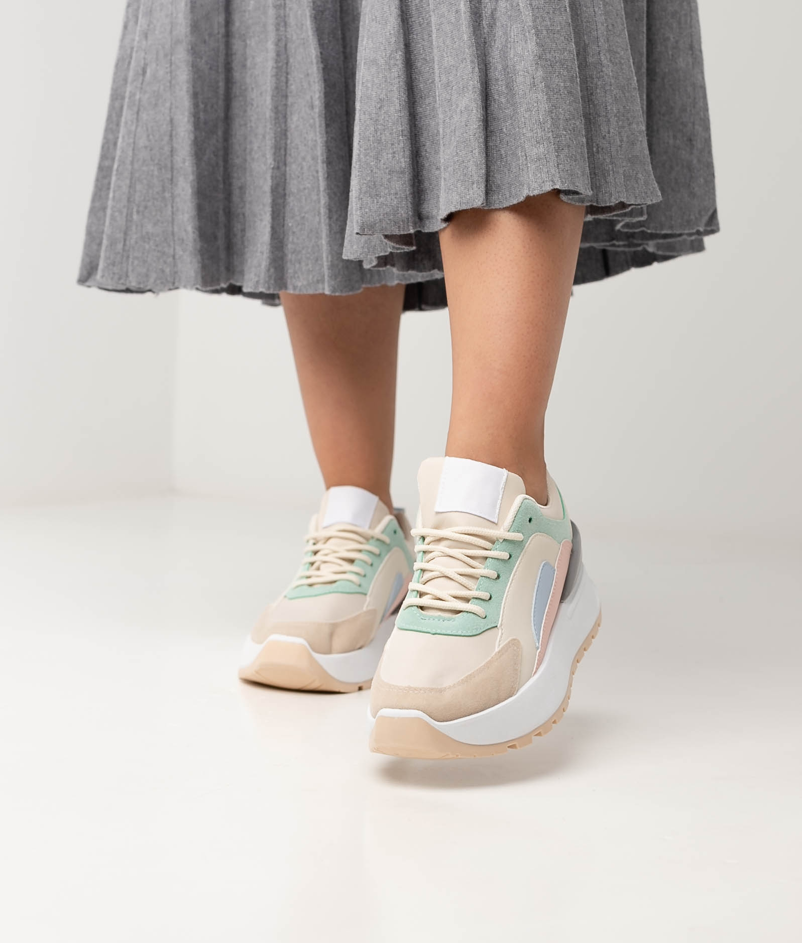 CADRE SNEAKERS - BLUE