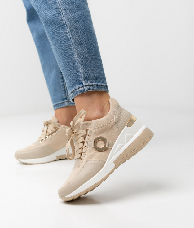 Sneakers BRANDI - BEGE