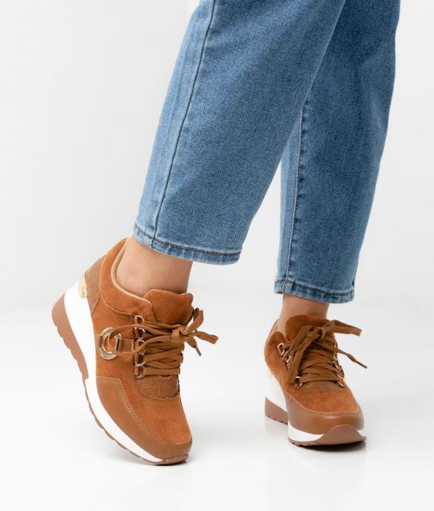 Sneakers BRANDI - CAMMELLO