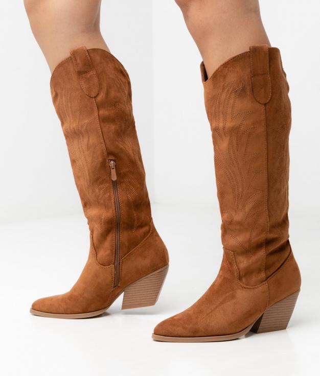 Knee-Lenght Boot Estral - Camel