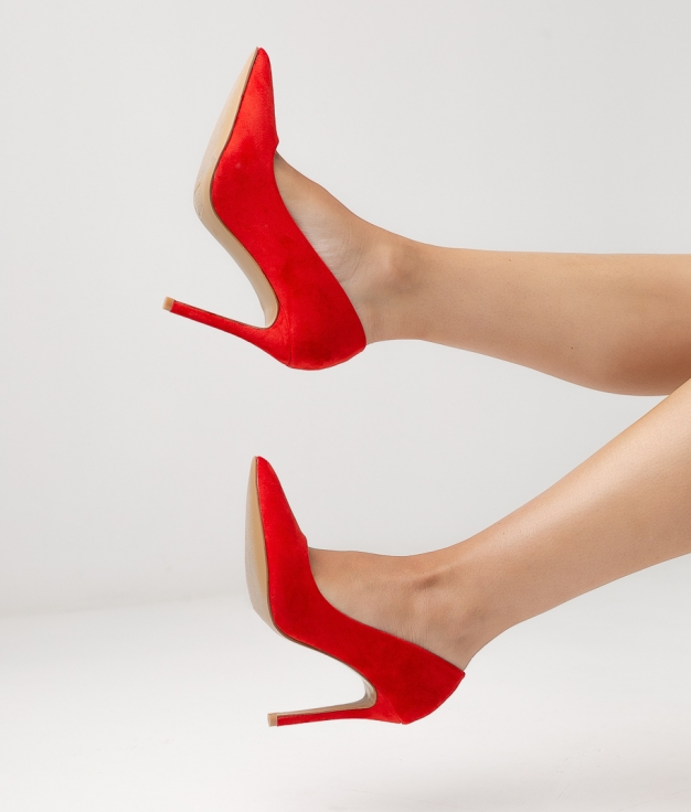 Chaussure CALNY - ROUGE