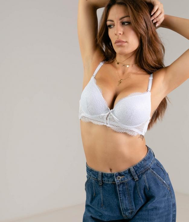 IREMEL BRA - WHITE