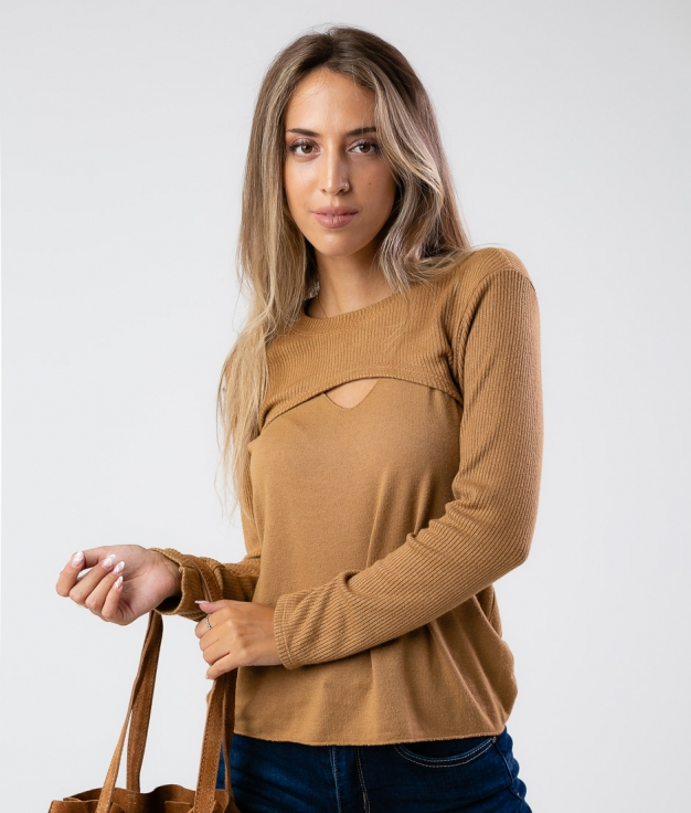 MONPURI OUTFIT - CAMEL