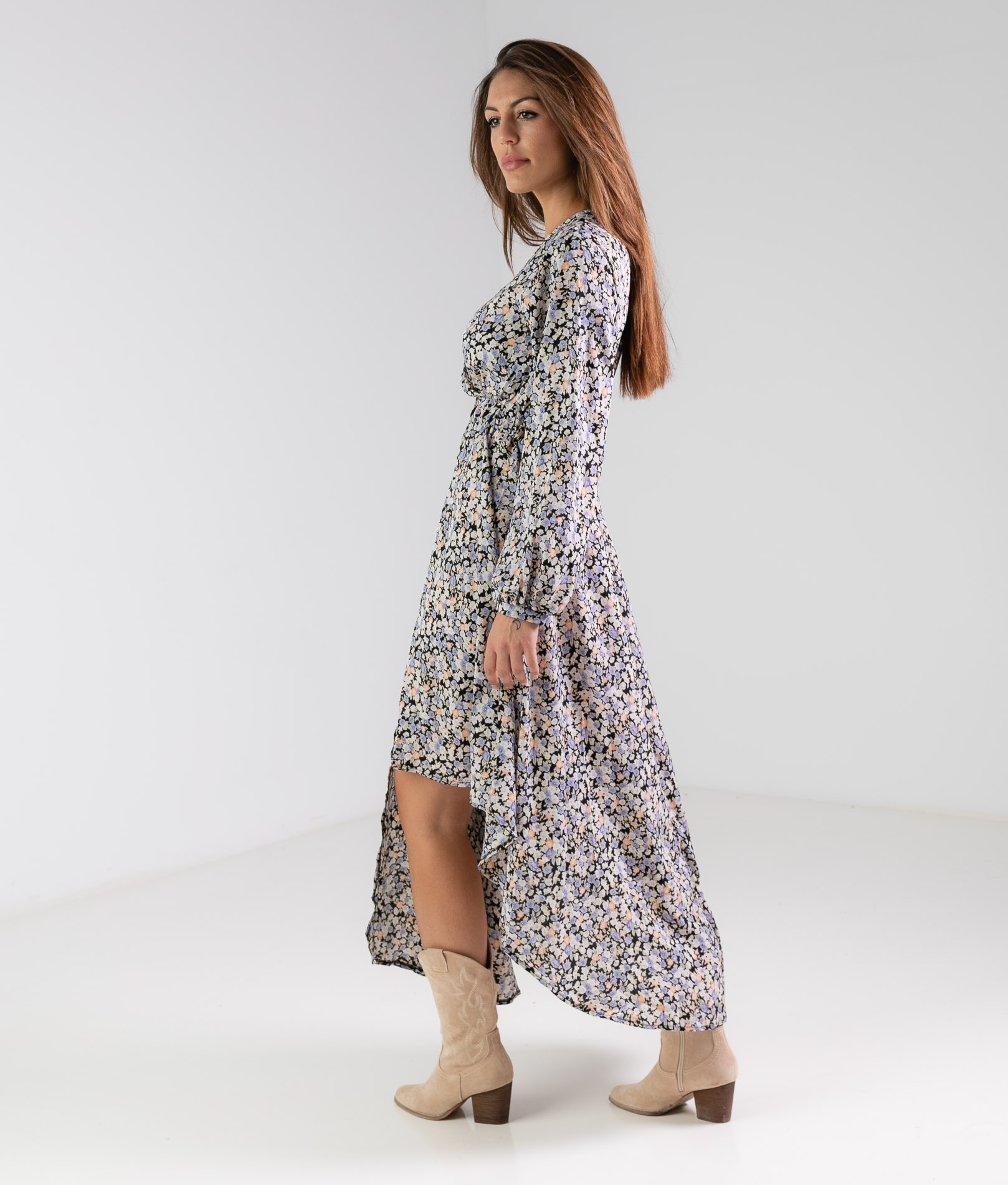 HAMBOTA DRESS - BLUE