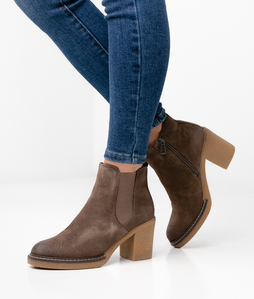 MELOR LOW BOOT - TAUPE
