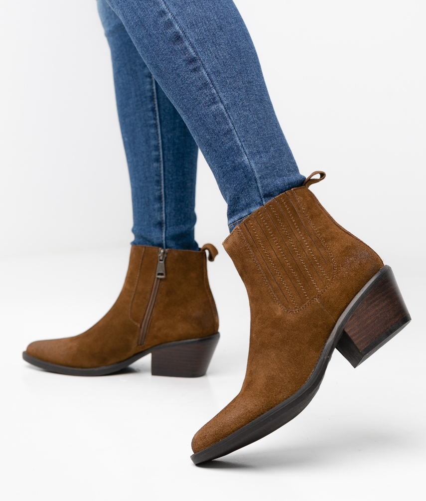 TAILOR LOW BOOT - BROWN