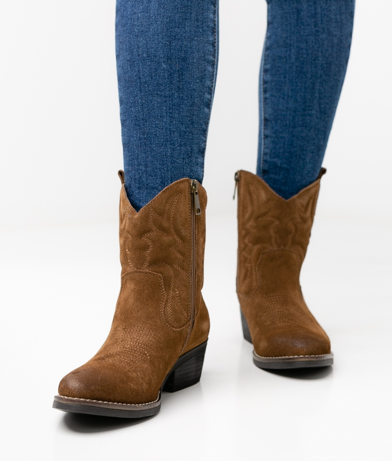 LORRY LOW BOOT - BROWN