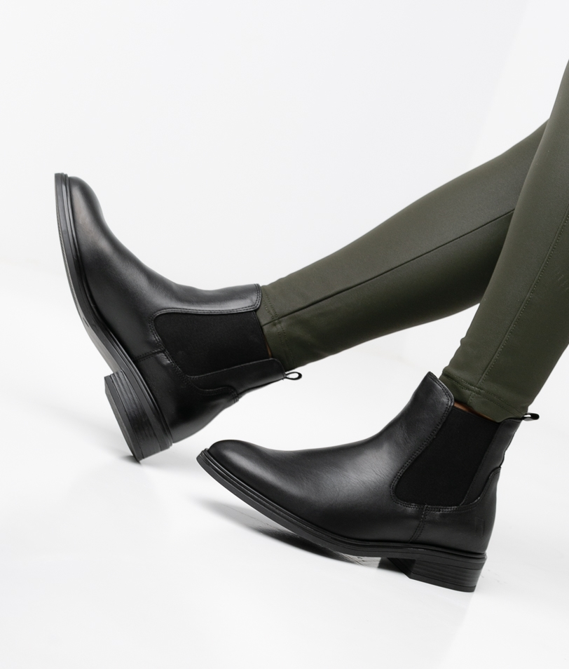 DAILY LOW BOOT - BLACK