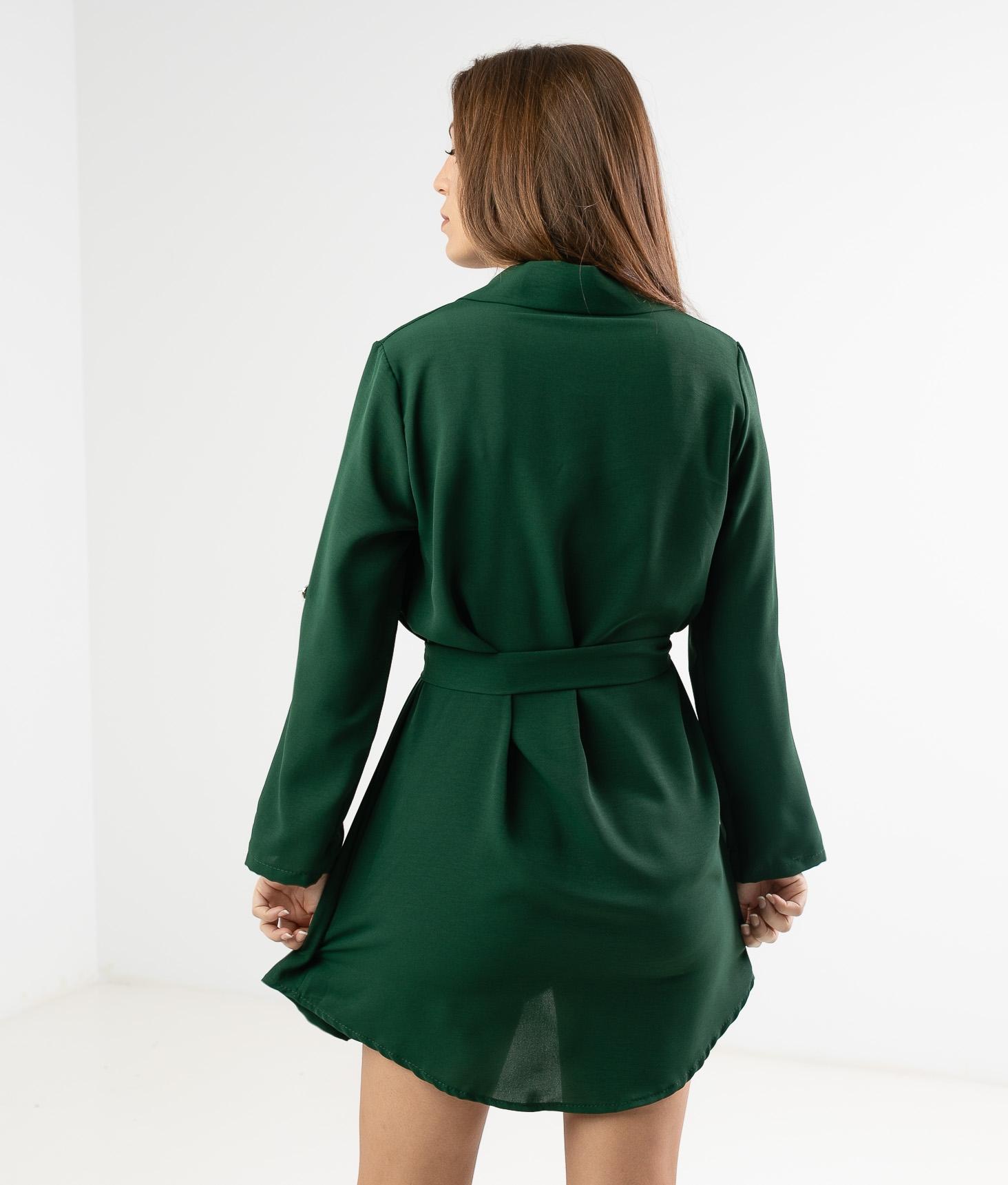 JOLAR DRESS - GREEN