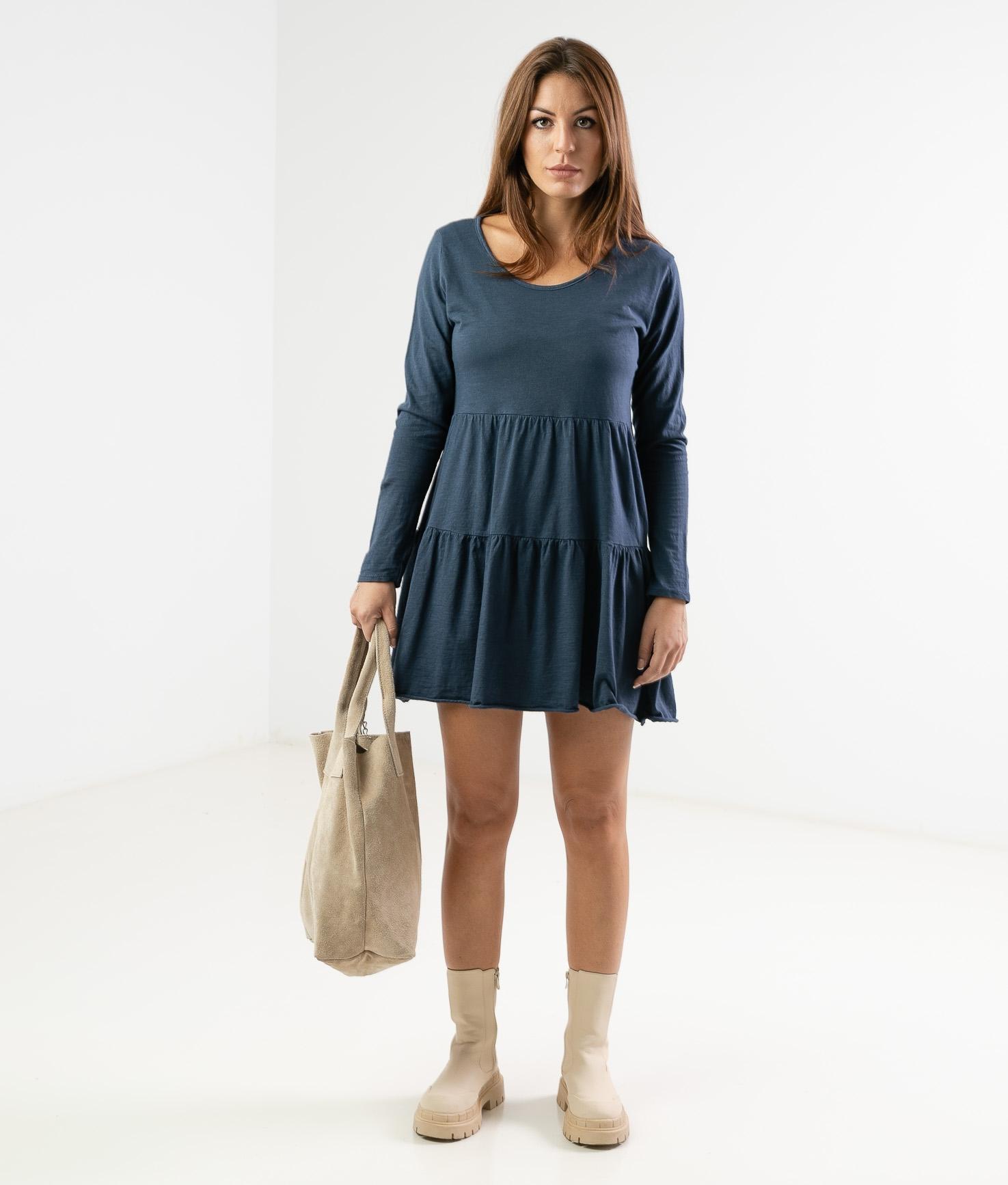 CIMERA DRESS - DARK BLUE