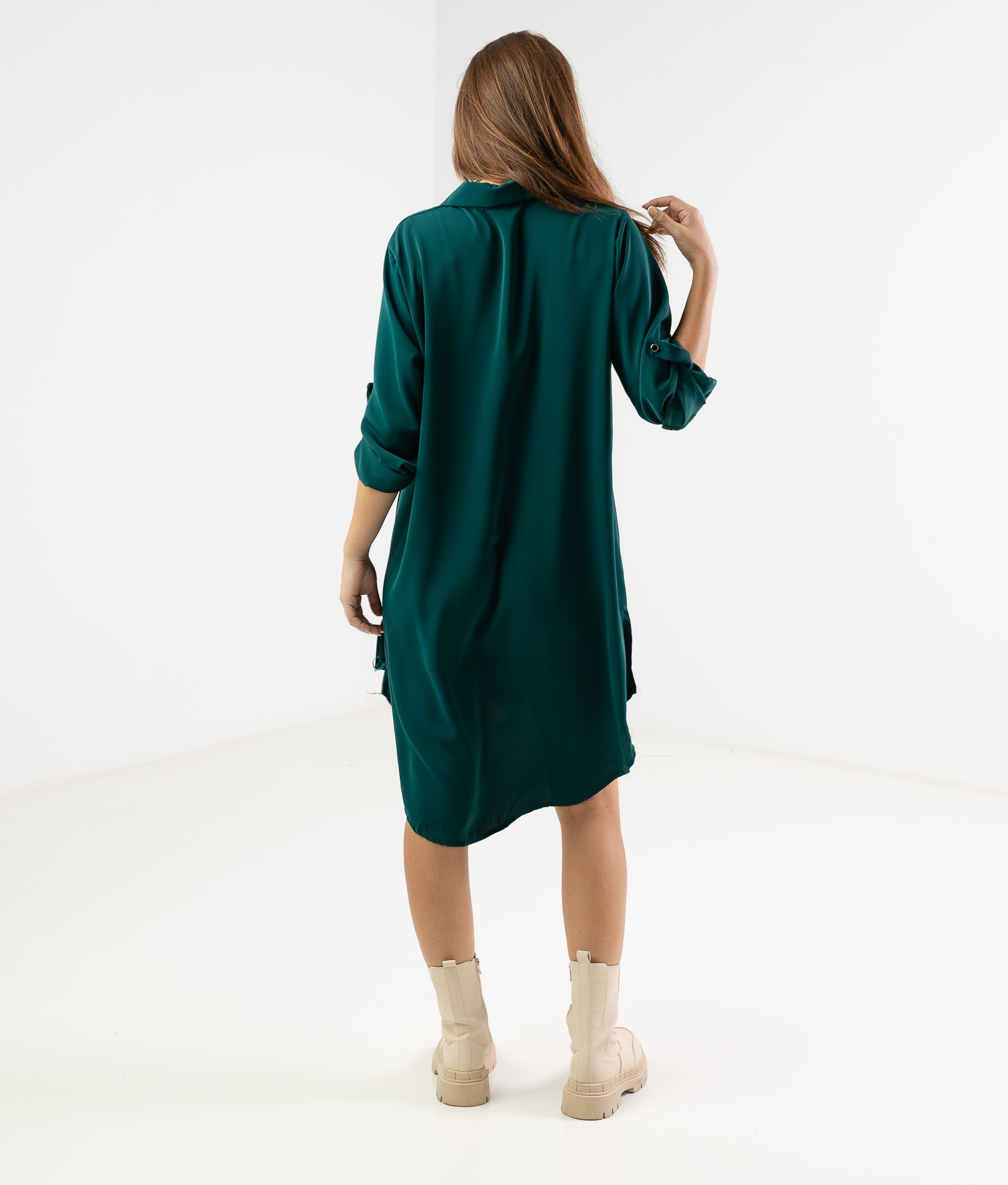 VIMALA DRESS - GREEN