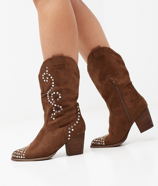 BRALY BOOT - BROWN
