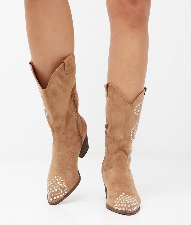 BRALY BOOT - CAMEL